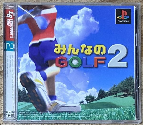 Photo1: Minna No Golf 2 / Hotshots Golf 2 (みんなのゴルフ2) (1)